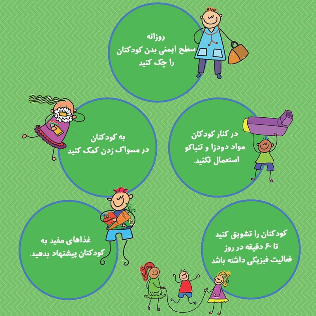به روند سلامتی فرزندانتان توجه کنید